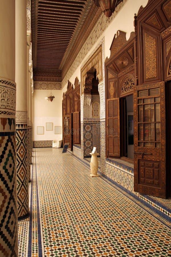 Museo di Marrakesh immagine stock