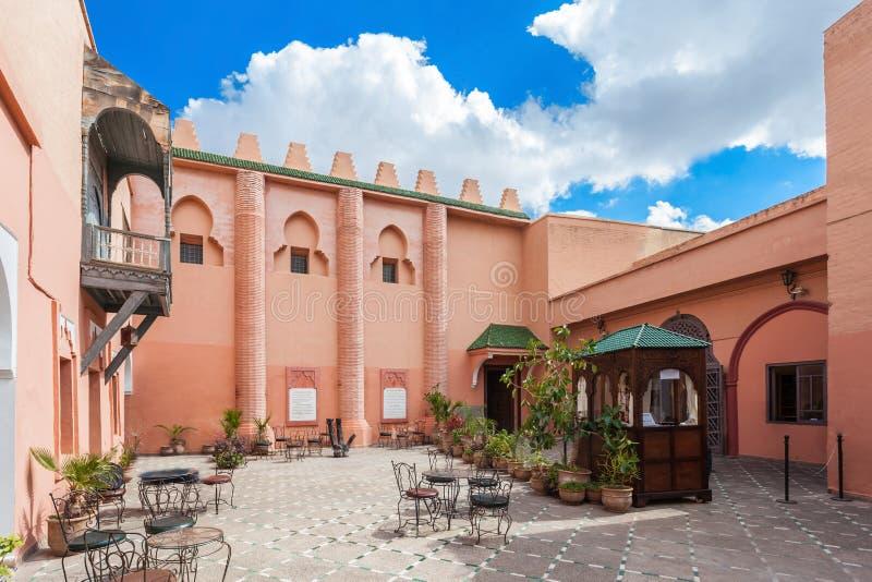 Museo di Marrakesh fotografie stock