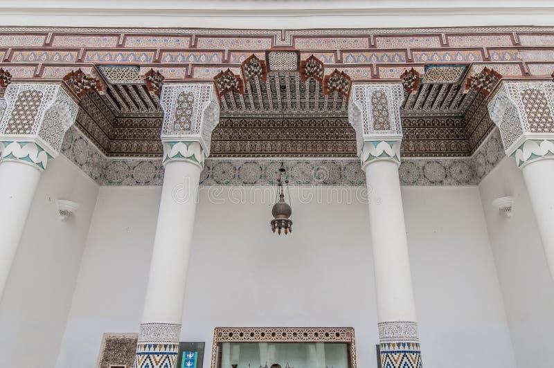 Museo di Marrakesh situato al Marocco fotografia stock