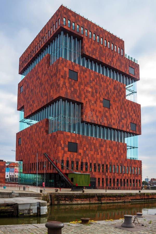 Museo di MAS a Anversa immagine stock libera da diritti