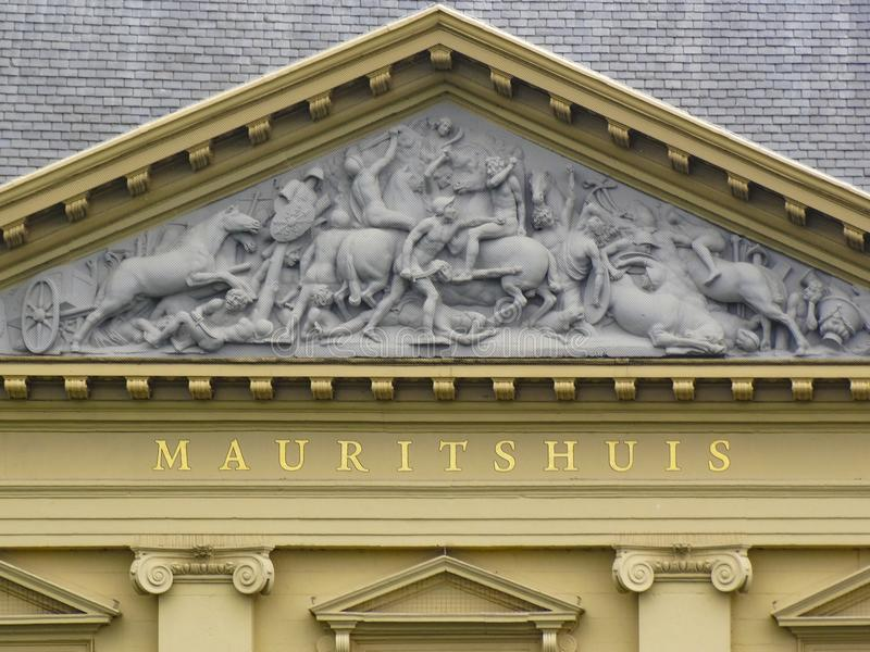 Museo di Mauritshuis fotografia stock libera da diritti