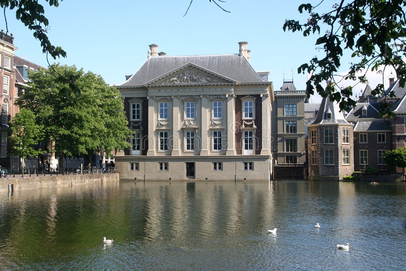 Museo di Mauritshuis immagine stock