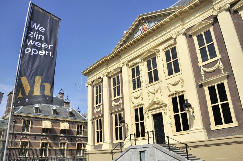 Museo di Mauritshuis immagini stock libere da diritti