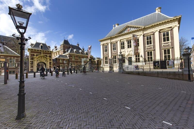 Museo di Mauritshuis fotografie stock libere da diritti