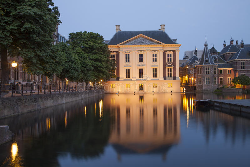 Museo di Mauritshuis a Aia fotografie stock