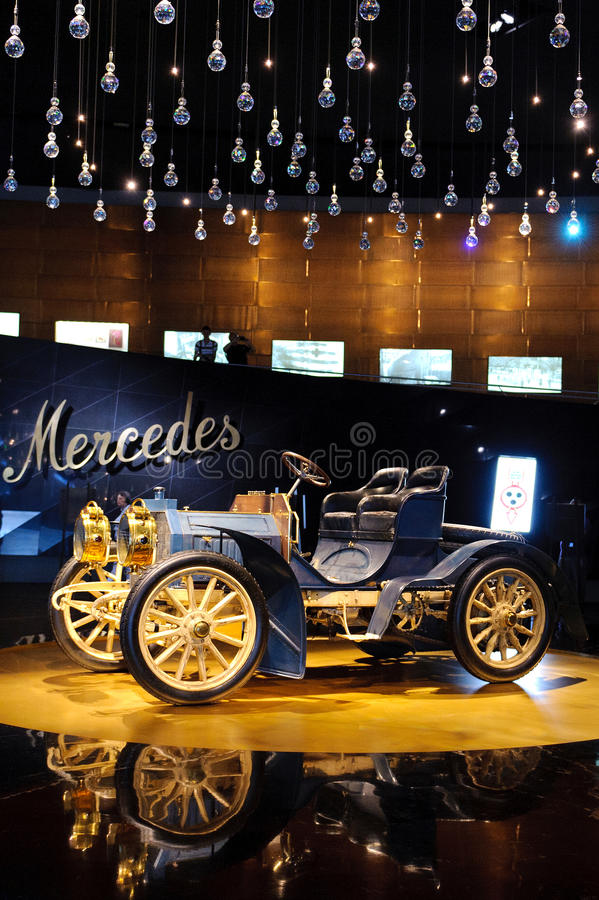 Museo di Mercedes fotografie stock libere da diritti