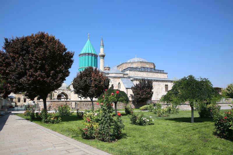 Museo di Mevlana in Konya Turchia immagini stock
