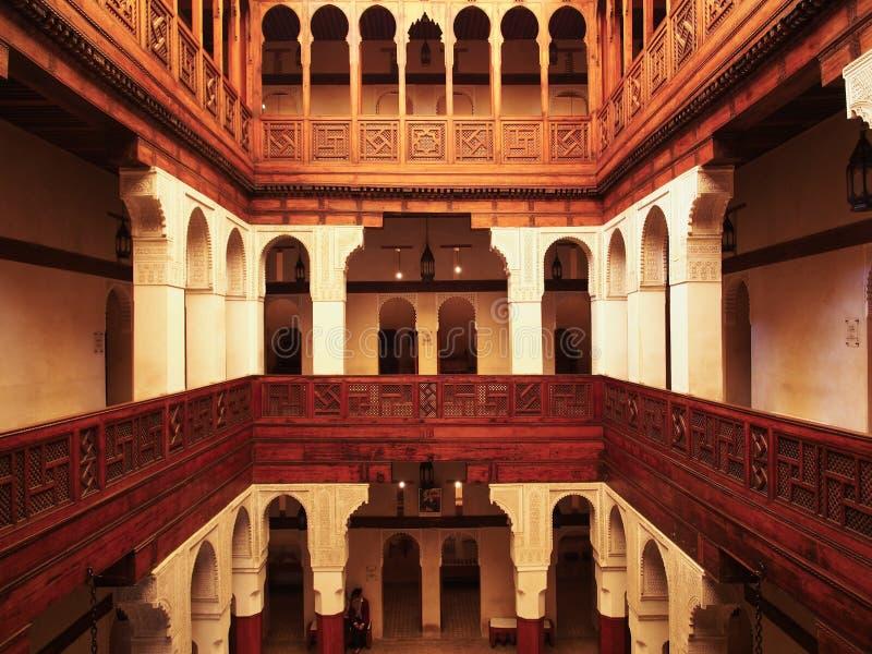 Museo di Nejjarine fotografie stock libere da diritti