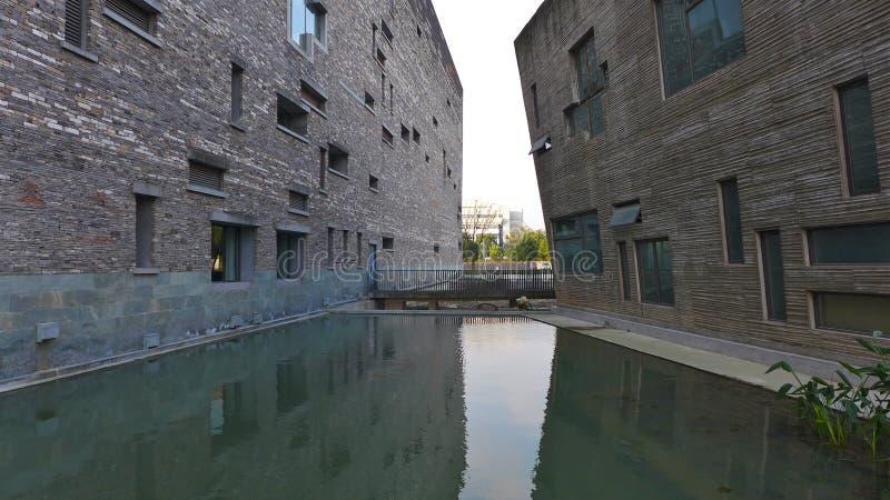 Museo di Ningbo, Ningbo, Cina fotografie stock