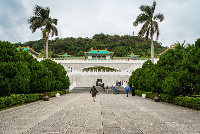 Museo di palazzo nazionale in Taipei, Taiwan fotografia stock libera da diritti