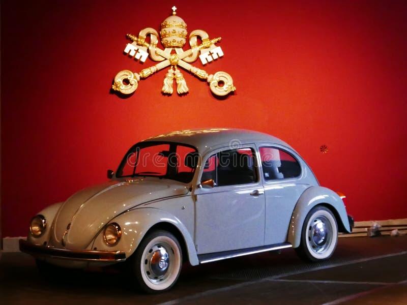 Museo di papamobile fotografia stock libera da diritti