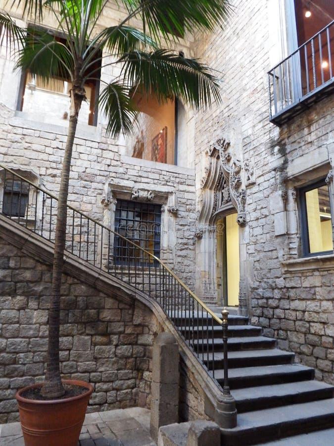 Museo di Picasso a Barcellona immagini stock libere da diritti