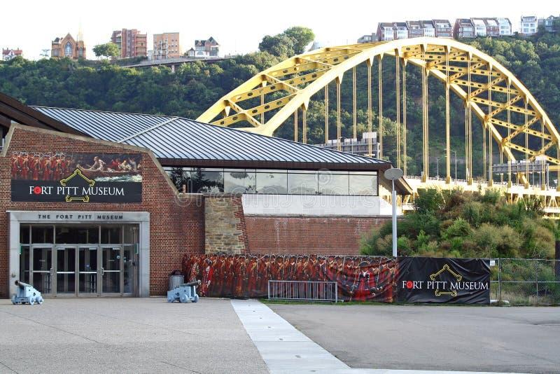 Museo di Pitt della fortificazione fotografia stock libera da diritti
