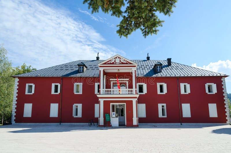 Museo Di Re Nikola In Cetinje, Montenegro Fotografia Stock Editoriale - Immagine di entrata, bandierina: 71398918