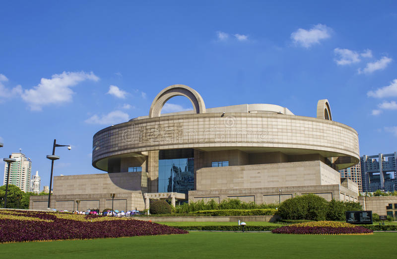 Museo di Schang-Hai immagini stock libere da diritti