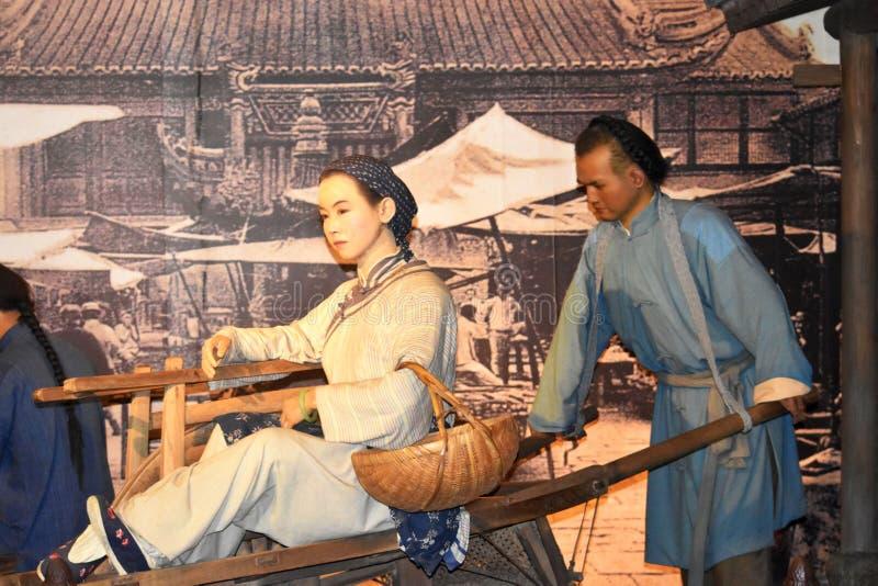 Museo di Schang-Hai, Cina fotografia stock libera da diritti