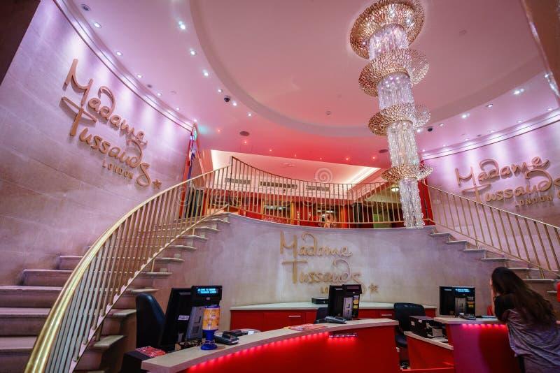 Museo di signora Tussauds a Londra fotografia stock libera da diritti
