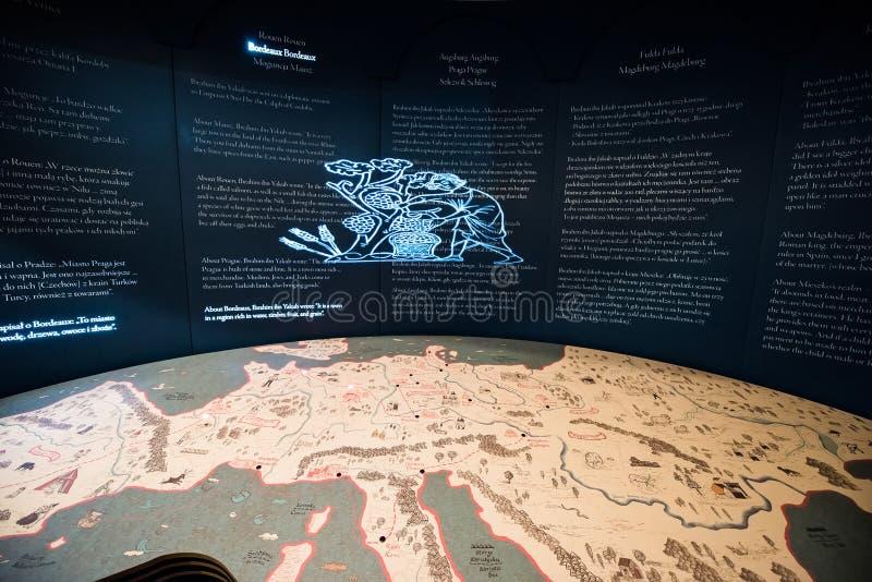 Museo di storia degli ebrei polacchi immagini stock libere da diritti