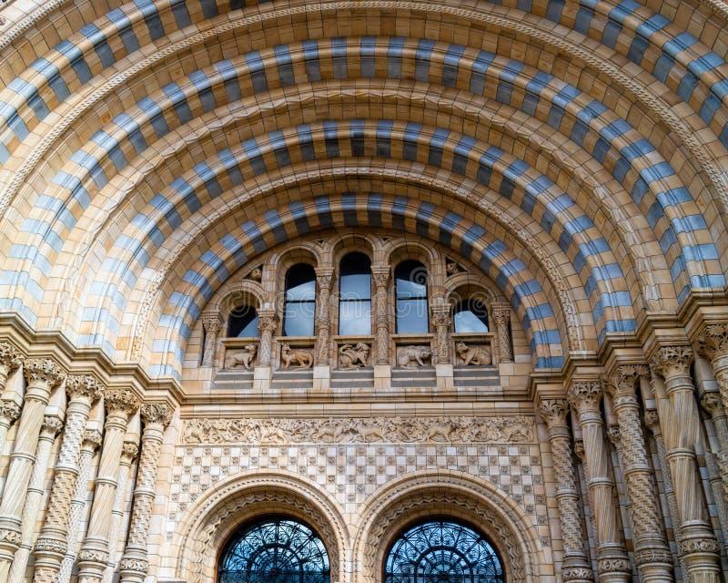 Museo di storia naturale di Londra fotografie stock
