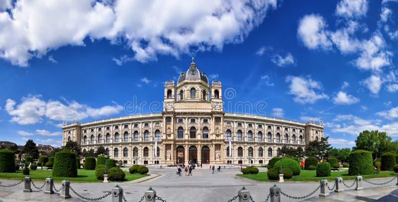 Museo di storia naturale, Vienna, Austria fotografia stock