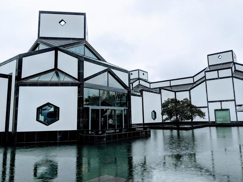 Museo di Suzhou fotografie stock