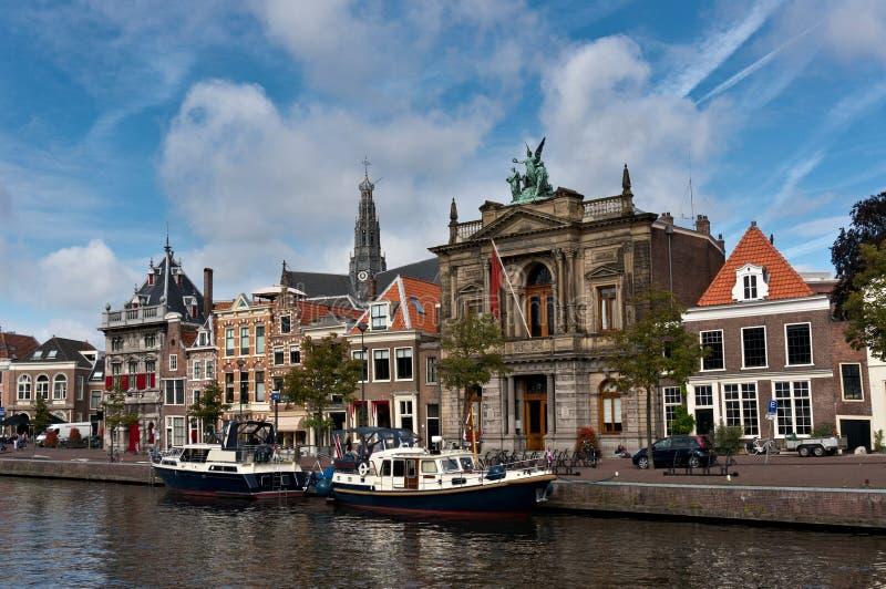 Museo di Teylers a Haarlem fotografie stock
