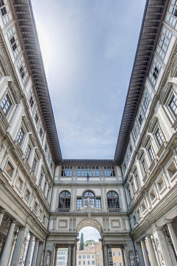 Museo di Uffizi di degli di Galleria a Firenze, Italia fotografie stock