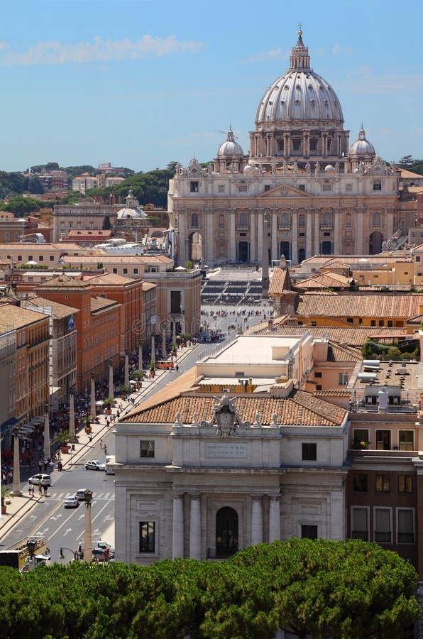 Museo di Vatican in basilica della st Peter fotografie stock