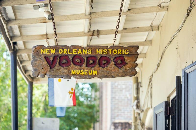 Museo di voodoo fotografia stock