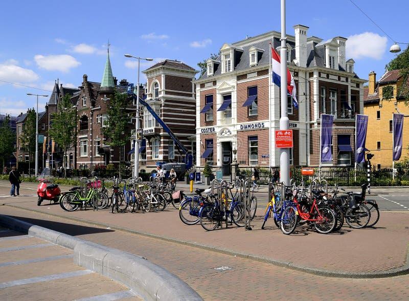 Museo, diamante, Olanda, Amsterdam immagine stock