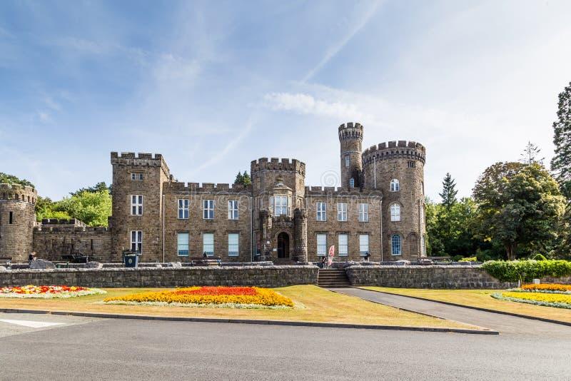 Museo e Art Gallery del castello di Cyfarthfa immagine stock