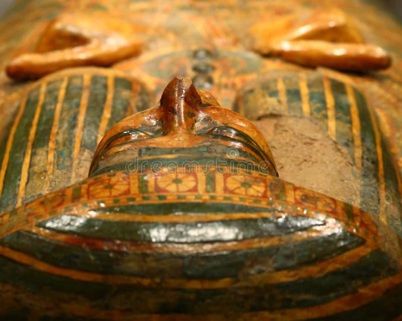Museo egipcio en Turín foto de archivo