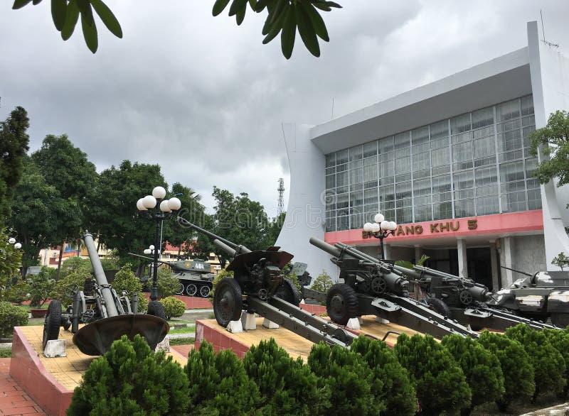 Museo en Da Nang, Vietnam de los militares de la zona 5 fotos de archivo