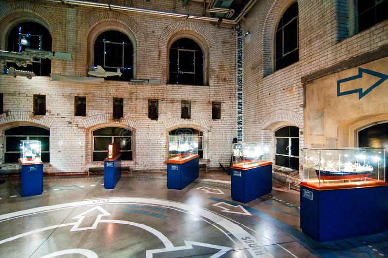 Museo en el almacén de Guinness imágenes de archivo libres de regalías