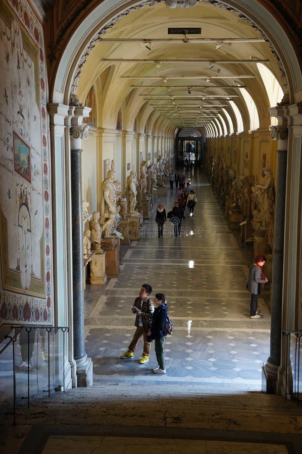 Museo en la Ciudad del Vaticano imagen de archivo
