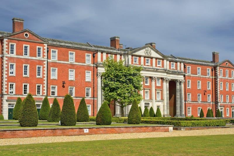 Museo en los cuarteles de la península, Winchester del Gurkha en Hampshire, Inglaterra fotografía de archivo