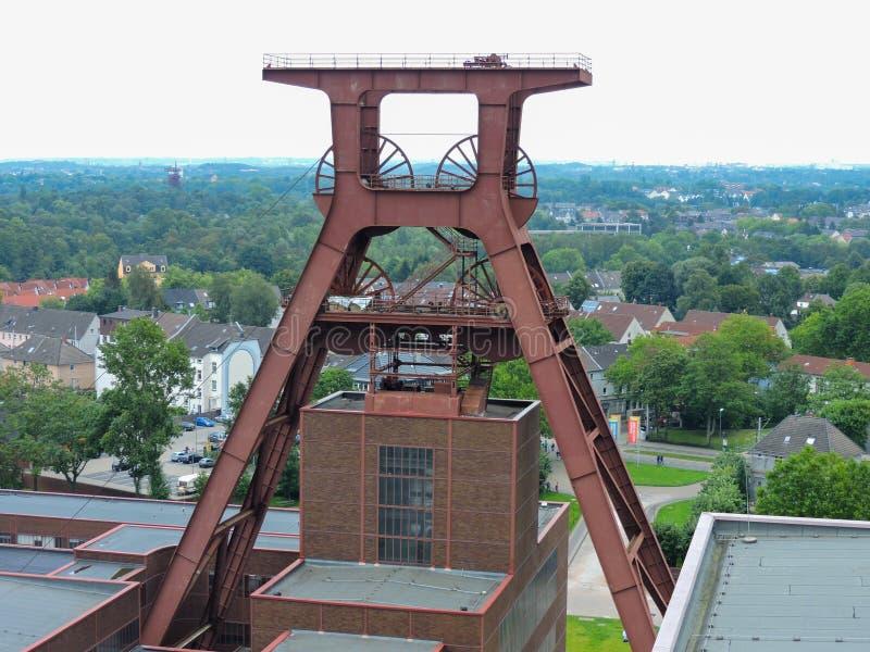 museo Essen Germania del rhur fotografia stock libera da diritti
