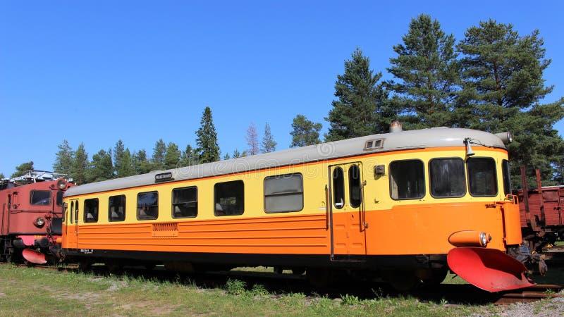 Museo ferroviario di Norrbotten nel ???di �del ? del ?? del ?di ??'?? del ? del ?�?? del ??di '??'? del ?? del ?del ???'?? d immagini stock