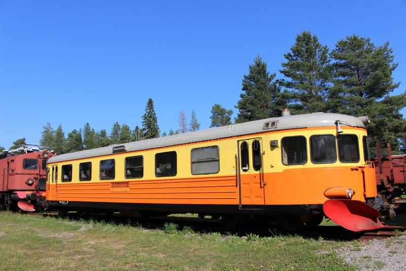 Museo ferroviario di Norrbotten nel ???di Â?del ? del ?? del ?del ???'?? del ?del ?? del ?di ?? del ??? del ? di Lule??'? immagine stock libera da diritti