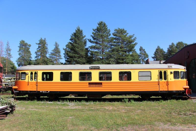 Museo ferroviario di Norrbotten nel ???di Â?del ? del ?? del ?del ???'?? del ?del ?? del ?di ?? del ??? del ? di Lule??'? fotografia stock