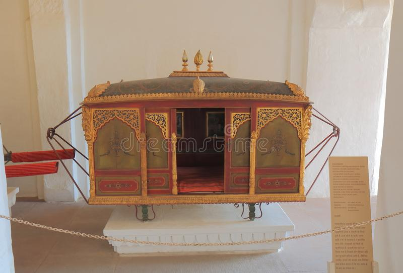 Museo forte Jodhpur India di Mehrangarh fotografie stock