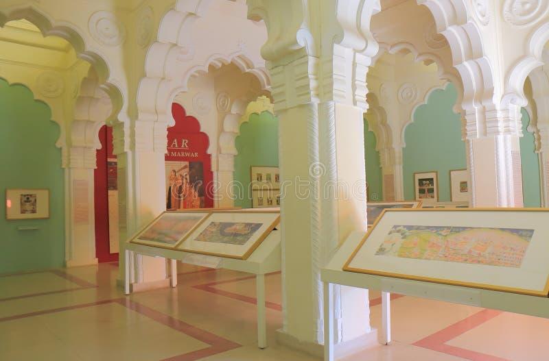 Museo forte Jodhpur India di Mehrangarh fotografia stock