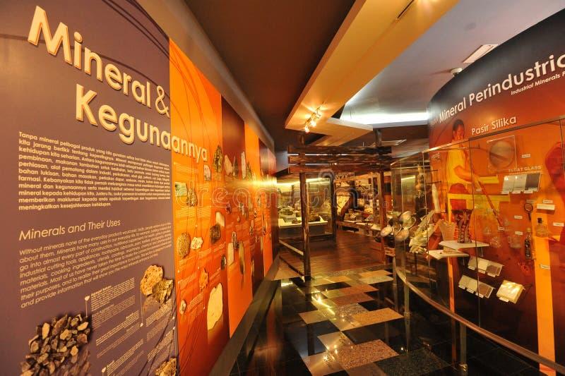 Museo geologico fotografie stock