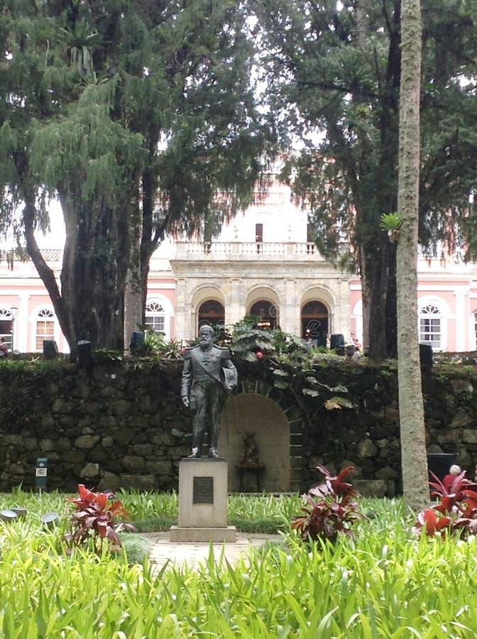 Museo imperial de Petropolis imagen de archivo