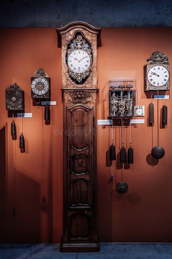 Museo internacional de la relojería de La Chaux de Fonds imagen de archivo libre de regalías
