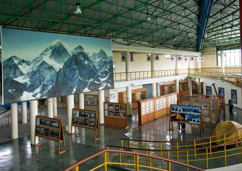 Museo internazionale della montagna in Pokhara, Nepal fotografia stock libera da diritti
