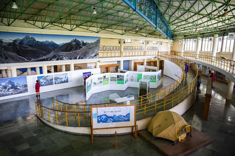 Museo internazionale della montagna in Pokhara, Nepal fotografie stock