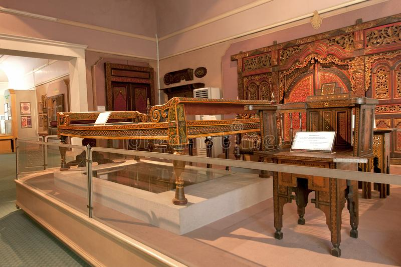 Museo islámico de la herencia imagen de archivo libre de regalías