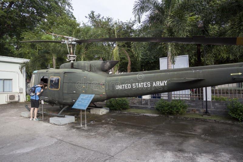 Museo los remanente de la guerra en Ho Chi Minh, Vietnam fotografía de archivo libre de regalías