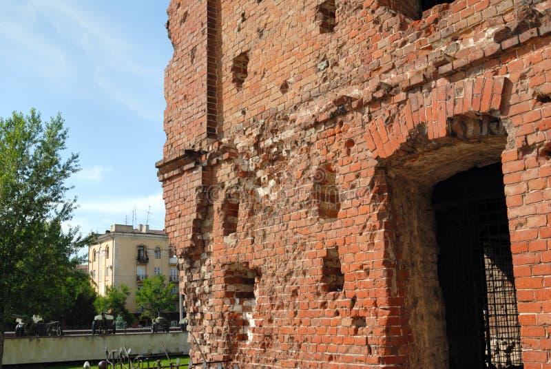 Museo - lotta di Stalingrad di panorama fotografia stock